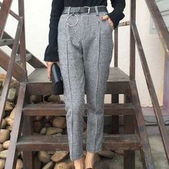 Visbee - Cropped Tapered Pants