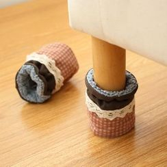 Lazy Corner - Set of 4 / Set of 24: Patterned Furniture Leg Cover