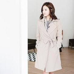 MASoeur - Trench Coat with Sash