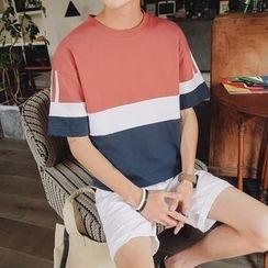 Blueforce - Color Panel Short Sleeve T-Shirt