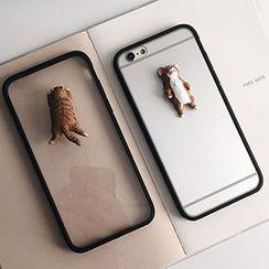 Casei Colour - iphone 6s / 6 Plus 猫猫透明手机壳