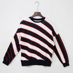 Mr. Cai - Striped Pullover