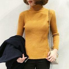 Bloombloom - High Neck Sweater