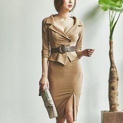 Aurora - 西装半裙套装