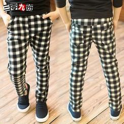 Lullaby - Kids Gingham Pants