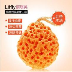 Litfly - Bathing Sponge (Black Tea)