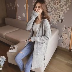Cocofield - Chunky Knit Long Cardigan
