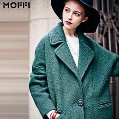 MOFFI - Woolen Lapel Coat