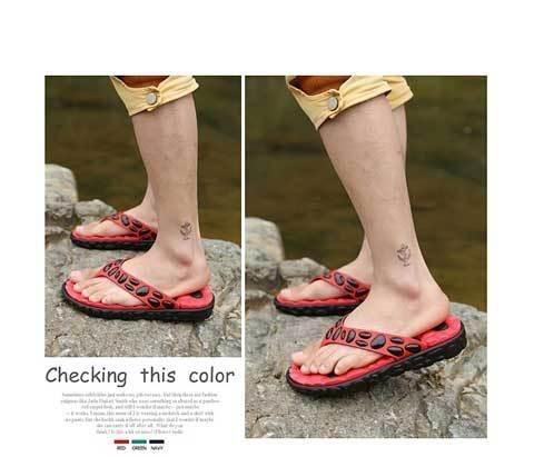 designer flip flops  printed flip-flops