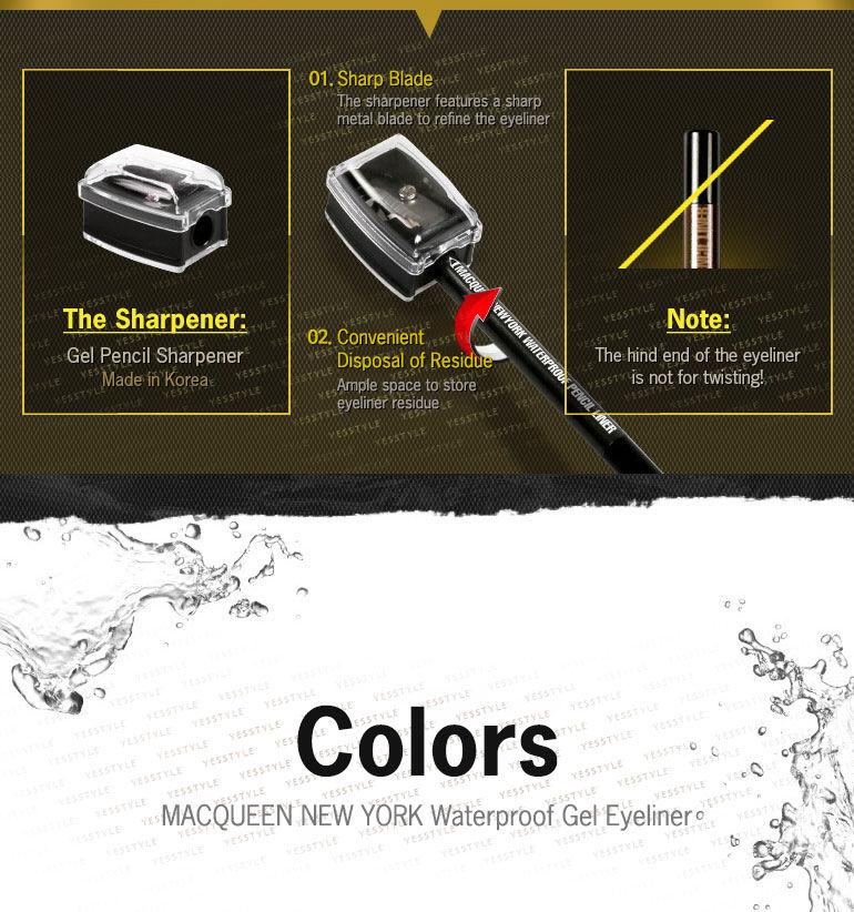Buy MACQUEEN Waterproof Gel Eyeliner | YesStyle