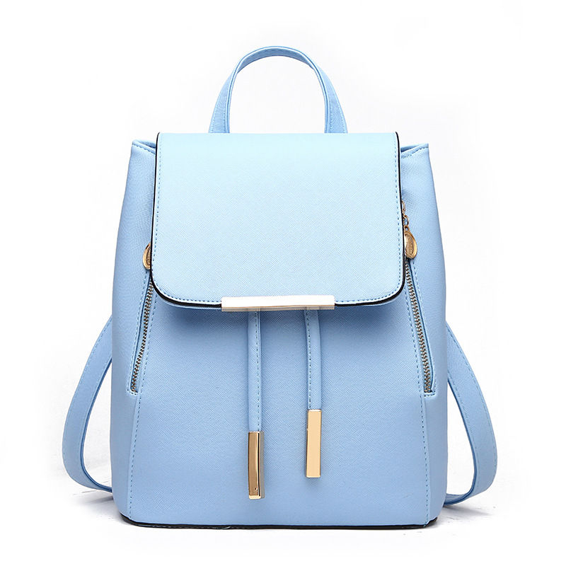 Miim Faux Leather Backpack Yesstyle