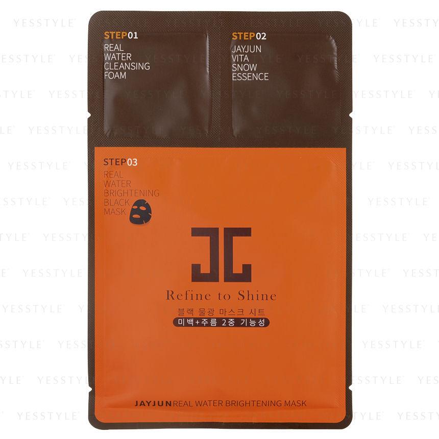 Real Customer Reviews: JAYJUN Real Water Brightening Black Mask